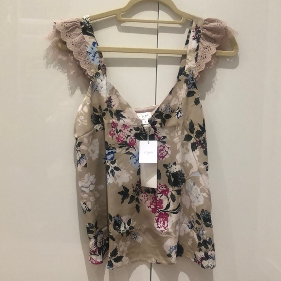 NWT Cami NYC Chelsea flowered cami